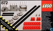 Lego 872 Two Gear Blocks