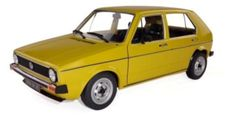 Solido - Scale 1/18 - Volkswagen Golf 1 CL Yellow