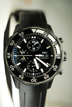 "IWC AQUATIMER ""Galapagos"" ref. IW376705 - Men's Wristwatch"