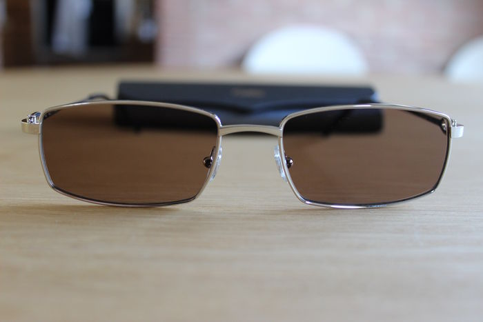 "d49f203bf20 Cartier ""C"" décor optical sun glasses. In perfect condition. 100 ..."