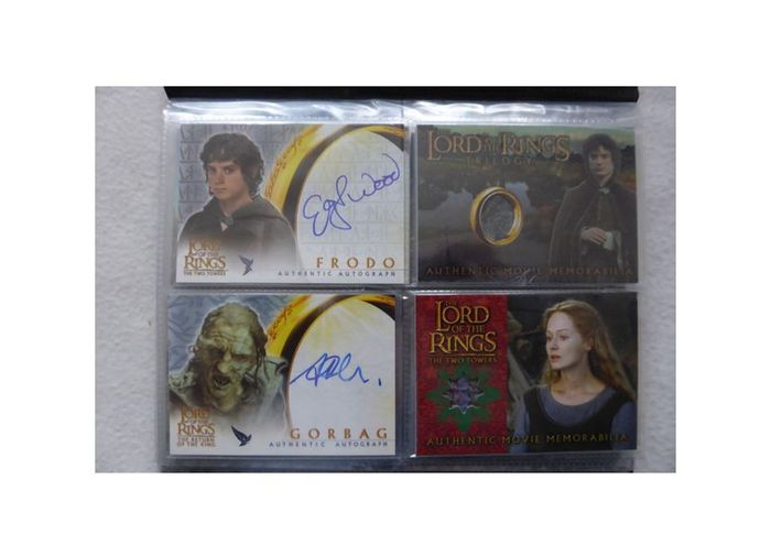The Lord Of The Rings Trading Cards Place