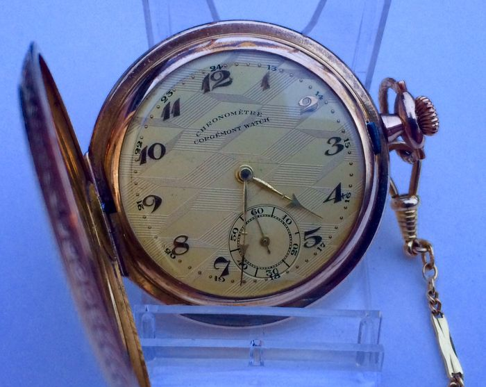Savonette Chronometre Corgémont Watch - Period 1920s