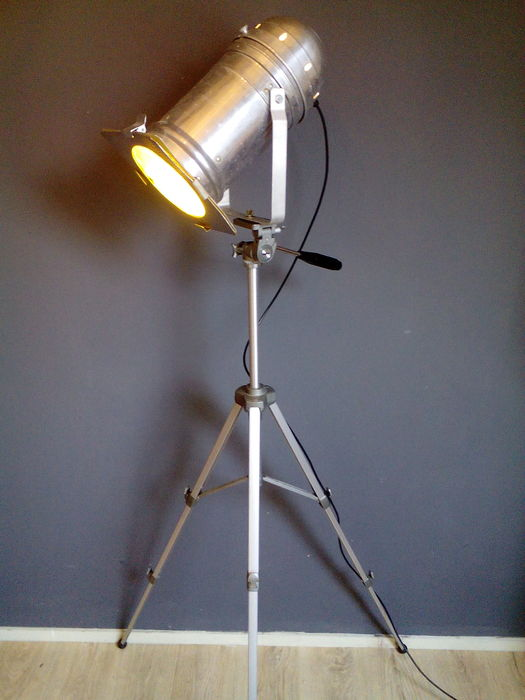 Statief - driepoot - theaterlamp - aluminium - spotlight