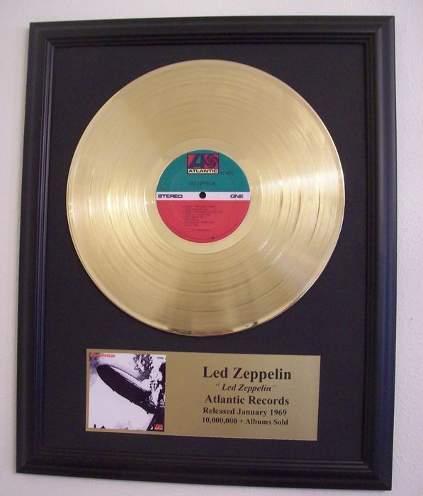 Led Zeppelin - Led Zeppelin- Golden record LP