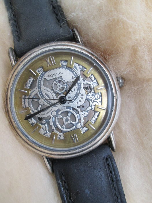 Homme Vintage Fossil Fossil Montre Catawiki oexWCrdB