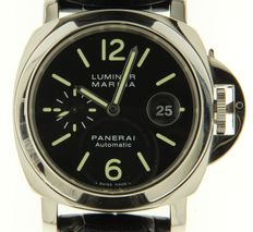 Panerai Luminor Marina – n° PAM 104 – men's wristwatch – (our internal #7573)