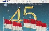The 45th Independence Day of Indonesia