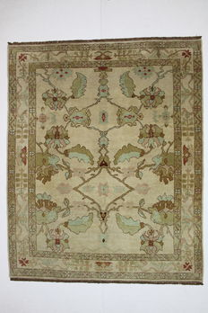 Very beautiful FARAHAN carpet, Afghanistan, 300 x 249 cm, knotted by hand