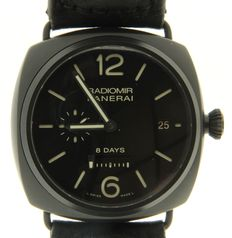 Panerai Radiomir 8 Days Ceramica PAM 384 - Men's wristwatch  - (our internal #6859)