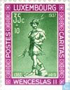 Postage Stamps - Luxembourg - Wenceslaus II