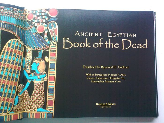 faulkner t. o. the ancient egyptian book of the dead