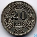 Brazil 20 réis 1918 (with point between 2 and 0)