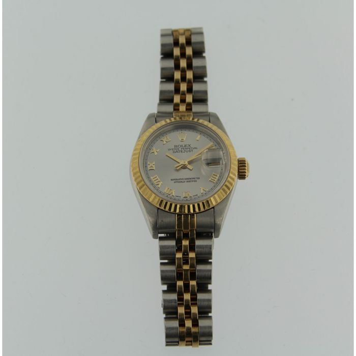 rolex oyster perpetual datejust damenuhr 1994 catawiki. Black Bedroom Furniture Sets. Home Design Ideas