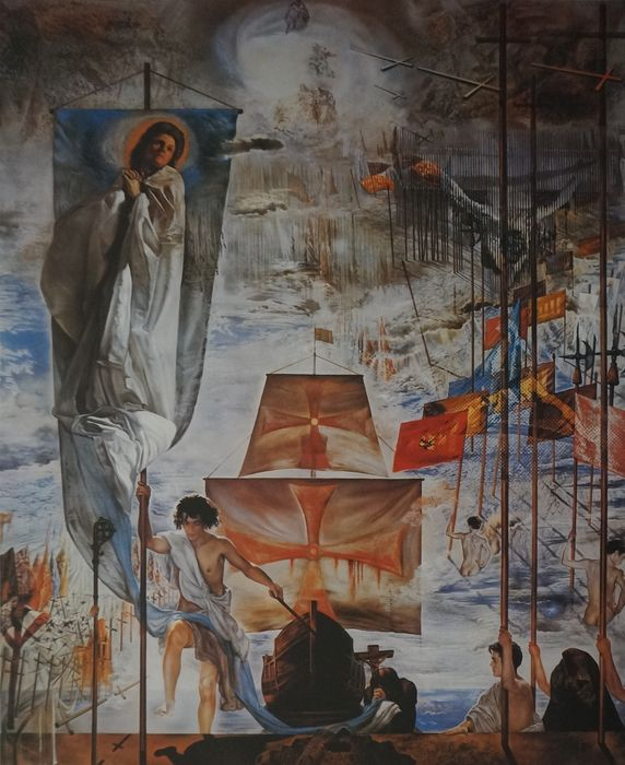 Salvador Dalí (naar) - The discovery of America by - Catawiki