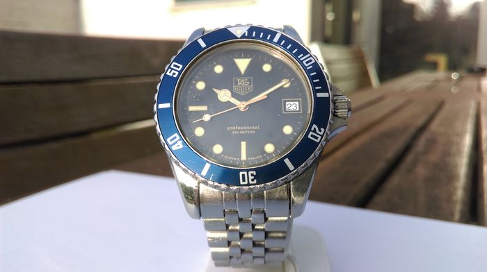 info for 010d6 903d0 Tag Heuer 1000 Professional 200 meter - Diving watch - 1985-1992 - Catawiki