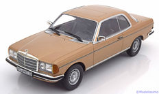 Norev - Scale 1/18 - Mercedes-Benz 280 CE W123 Coupe - Limited 1500 pieces - Colour Gold Metallic