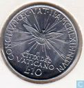 "Vaticaan 10 lire  1962 ""Second Ecumenical Council"""