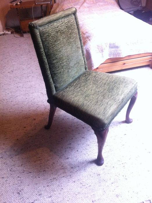 Dutch Elm Wood Louis XIV Dining Room Chairs