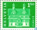 Postage Stamps - Switzerland [CHE] - House Ital Reding
