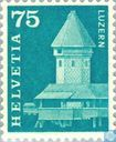 Postage Stamps - Switzerland [CHE] - Chapel Bridge