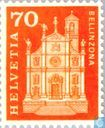 Postage Stamps - Switzerland [CHE] - Collegiate church St.Peter and St.Stephen