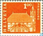 Postage Stamps - Switzerland [CHE] - City Hall