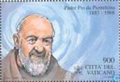 Postage Stamps - Vatican City - Padre Pio's canonization
