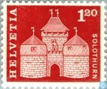 Postage Stamps - Switzerland [CHE] - Basel Gate
