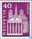 Postage Stamps - Switzerland [CHE] - St. Pierre Cathedral