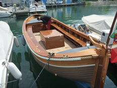 Gozzo boat with diesel/electric propulsion - Sebino 730 - 2012