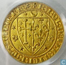 Crusaders from Jerusalem 1 (Au) salut d'or 1266 - 1285