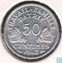 France 50 centimes 1943 (without B)