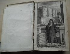 Constantin de Renneville - Historie van de Bastilje of de Inquisitie van de Staat in Vrankrijk - 3 volumes in 2 bindings - 1720 / 1721
