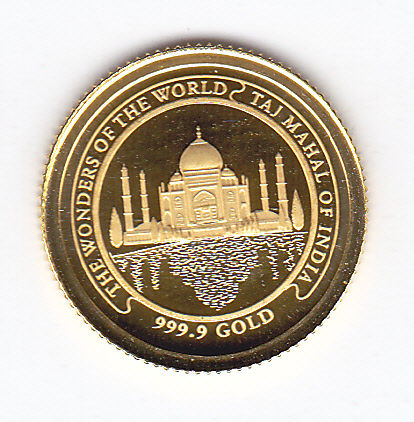 Kambodscha. 3000 Riels 2005, 'The wonders of the world Taj Mahal of India'