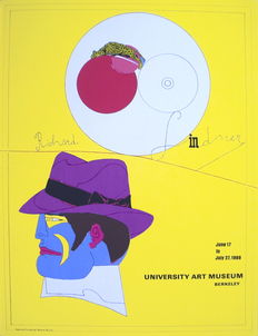 Richard Lindner - Show at the University Art Museum in Berkeley - 1969