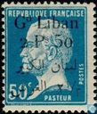 Louis Pasteur, with bilingual overprint