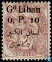 Allegory (Type Blanc), with bilingual overprint