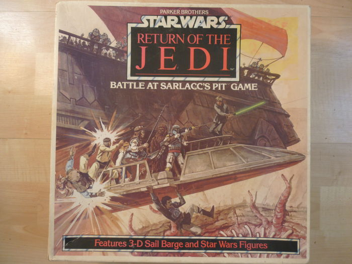 star wars return of the jedi battle at sarlaccs pit