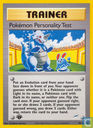 Pokemon Personality Test