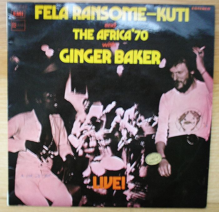 Lot of 2 early 70s live albums:Fela Ransome-Kuti and The