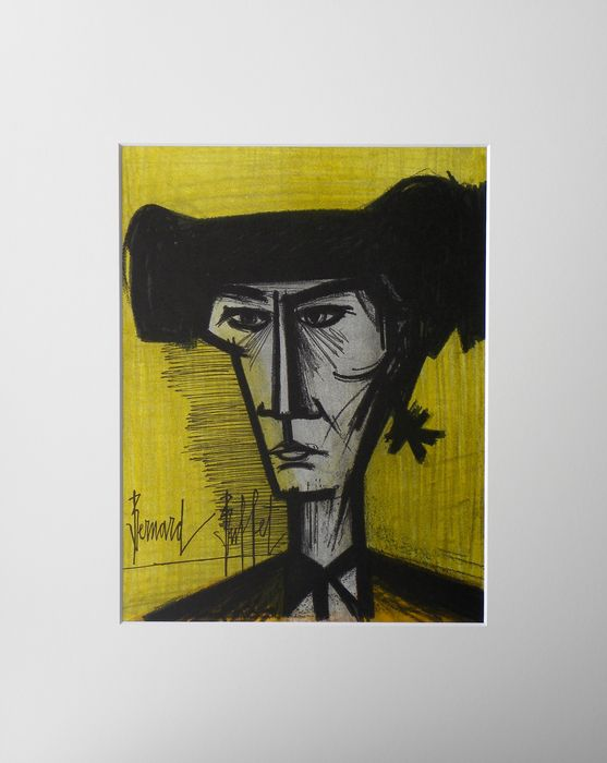 Bernard buffet le torero catawiki for Bernard buffet vente
