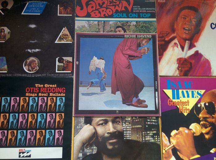 A fantastic lot of 7 records made by the all- time favourite soul/ funk and  jazzfusion singers of the 60's, 70's and 80's  - Catawiki