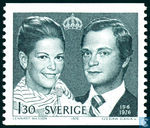 Postage Stamps - Sweden [SWE] - Royal Wedding