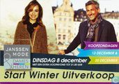 "Janssen Mode ""Start Winter Uitverkoop Dinsdag 8 december"""
