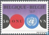 Timbres-poste - Belgique [BEL] - Nations Unies