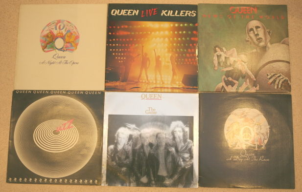 nice lot with 6 queen albums catawiki. Black Bedroom Furniture Sets. Home Design Ideas