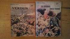 """WORLD WAR I; lot with 130 titles from the series collection """"Patrie"""" - 1917/1920"""