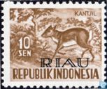 Stamps of Indonesia with RIAU