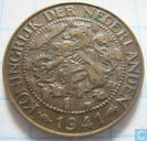 Coins - the Netherlands - Netherlands 1 cent 1941