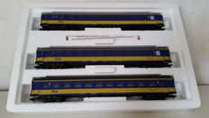 Märklin H0 - 42903 - Set of three ICK carriages of the NS